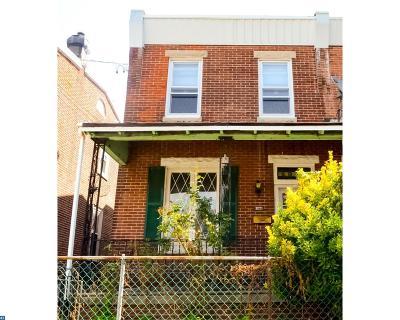 Philadelphia Single Family Home ACTIVE: 2021 Pratt Street