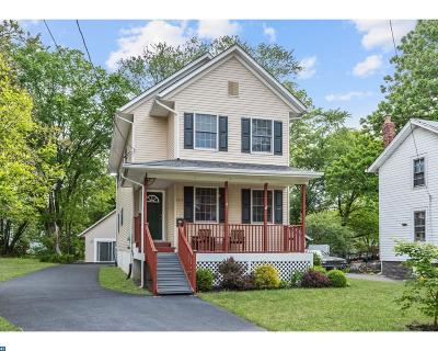 Moorestown Single Family Home ACTIVE: 235 S Church Street