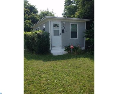 Pennsauken Single Family Home ACTIVE: 5018 Chapel Avenue