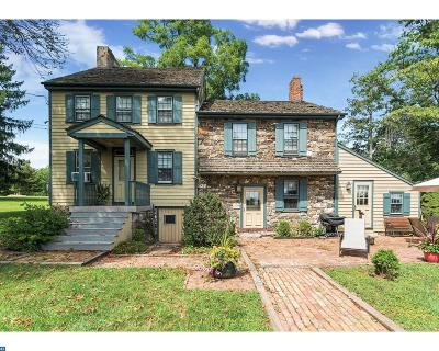 Hopewell Single Family Home ACTIVE: 1258 Bear Tavern Road
