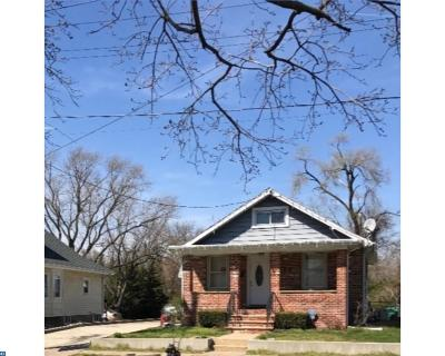 Gloucester City Single Family Home ACTIVE: 517 Nicholson Road