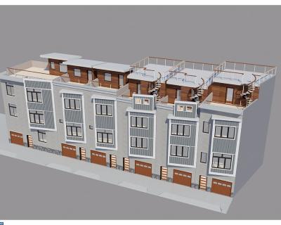 Philadelphia Condo/Townhouse ACTIVE: 1407 S Darien Street