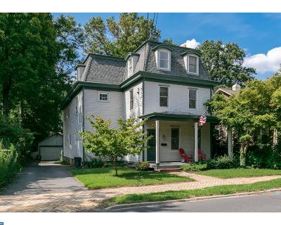 Moorestown Single Family Home ACTIVE: 277 W 2nd Street