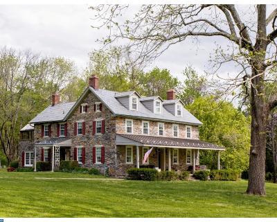 PA-Bucks County Single Family Home ACTIVE: 1393 Chestnut Ridge Road