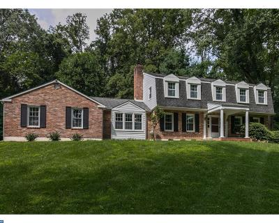 Newtown Single Family Home ACTIVE: 501 Bishop Hollow Road