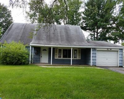 Willingboro Single Family Home ACTIVE: 41 General Lane