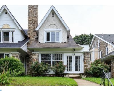Philadelphia PA Single Family Home ACTIVE: $375,000