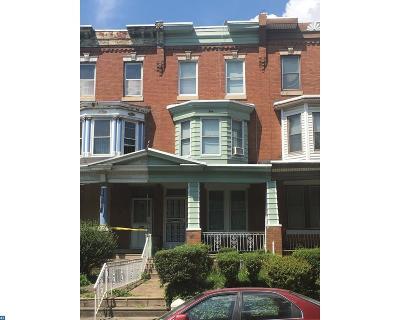 Philadelphia Condo/Townhouse ACTIVE: 3216 17th Street