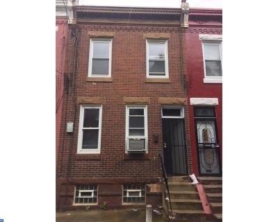 Philadelphia Condo/Townhouse ACTIVE: 2522 W Sergeant Street