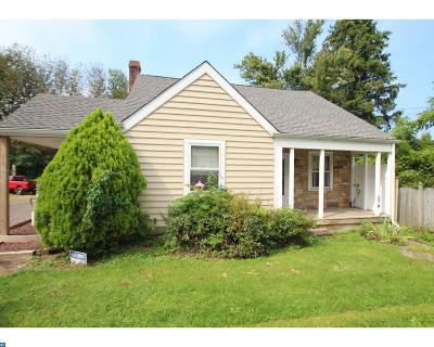 PA-Bucks County Single Family Home ACTIVE: 8814 Easton Road