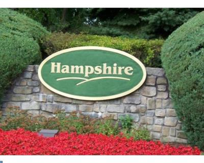 Plainsboro Condo/Townhouse ACTIVE: 22 Hampshire Drive