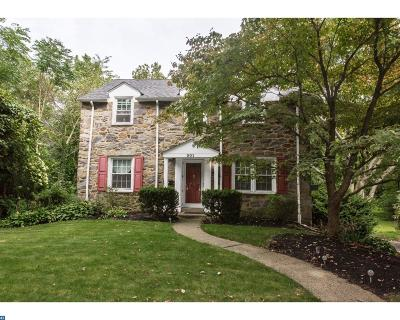 Swarthmore Single Family Home ACTIVE: 301 Riverview Road