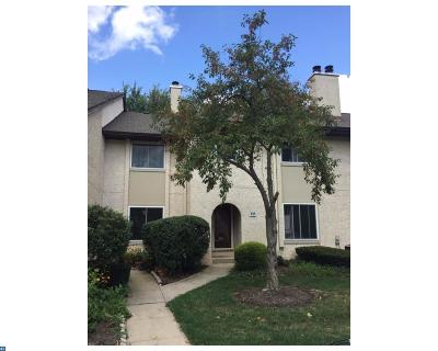 Plainsboro Condo/Townhouse ACTIVE: 131 Thoreau Drive