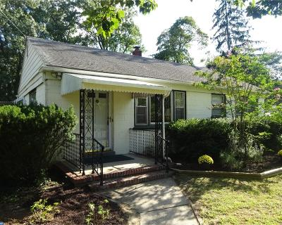Hainesport Single Family Home ACTIVE: 2218 Chestnut Avenue
