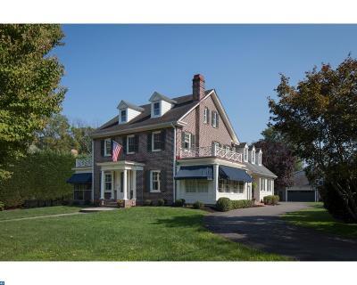 Moorestown Single Family Home ACTIVE: 302 E Oak Avenue