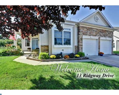 Bordentown Single Family Home ACTIVE: 13 Ridgway Drive
