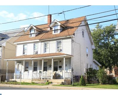 Mount Holly Single Family Home ACTIVE: 139 Rancocas Road