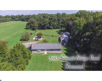 Townsend Single Family Home ACTIVE: 5883 Summit Bridge Road