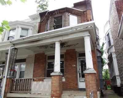 Philadelphia PA Single Family Home ACTIVE: $37,900