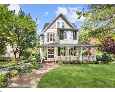 Moorestown Single Family Home ACTIVE: 325 Chestnut Street