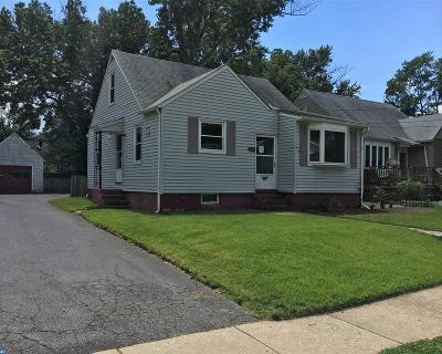 Oaklyn Single Family Home ACTIVE: 126 Manor Avenue