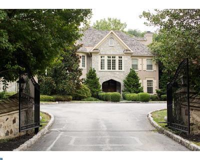 Villanova Single Family Home ACTIVE: 729 Harrison Road