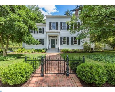 Princeton Single Family Home ACTIVE: 16 Boudinot Street