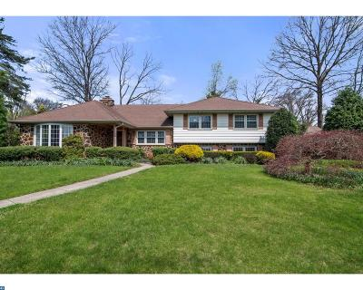 Moorestown Single Family Home ACTIVE: 275 Springhouse Lane