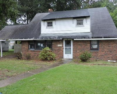 Lawnside Single Family Home ACTIVE: 513 Warwick Road
