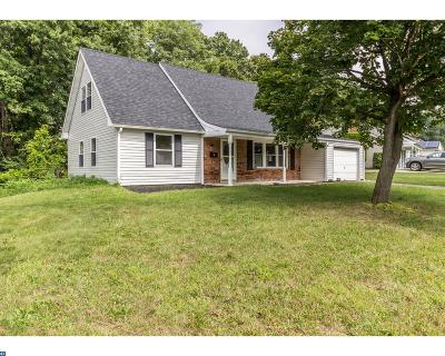 Willingboro Single Family Home ACTIVE: 28 Ember Lane