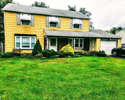 Willingboro Single Family Home ACTIVE: 53 Pastoral Lane