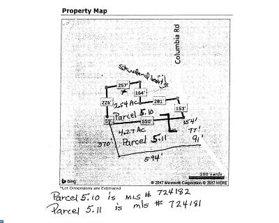 Delmar Residential Lots & Land ACTIVE: Columbia Road