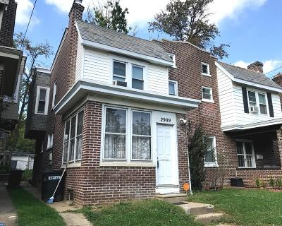 Wilmington Single Family Home ACTIVE: 2909 Franklin Street