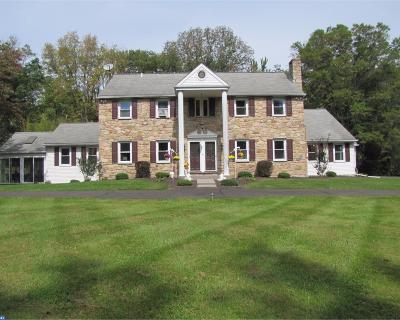 Solebury Single Family Home ACTIVE: 320 Aquetong Road