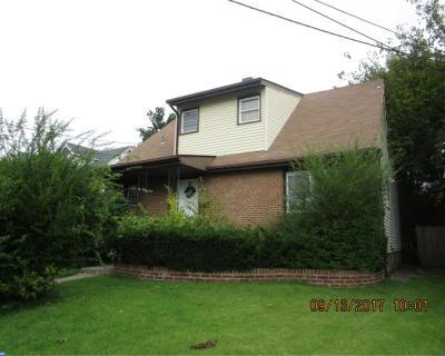 Pennsauken Single Family Home ACTIVE: 3917 Burwood Avenue