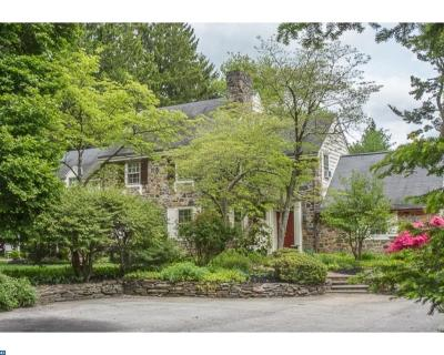 PA-Montgomery County Single Family Home ACTIVE: 611 Harriton Road