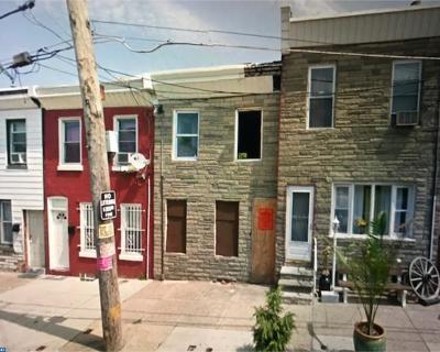 Philadelphia PA Condo/Townhouse ACTIVE: $12,900