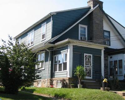 Yeadon Single Family Home ACTIVE: 958 Bullock Avenue