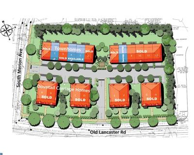 Bryn Mawr Condo/Townhouse ACTIVE: 59 S Merion Avenue #LOT 5