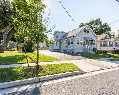 Oaklyn Single Family Home ACTIVE: 134 Manor Avenue