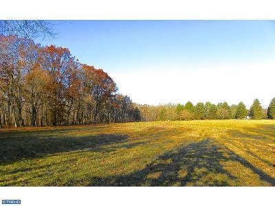 PA-Bucks County Residential Lots & Land ACTIVE: Lot Creamery Road