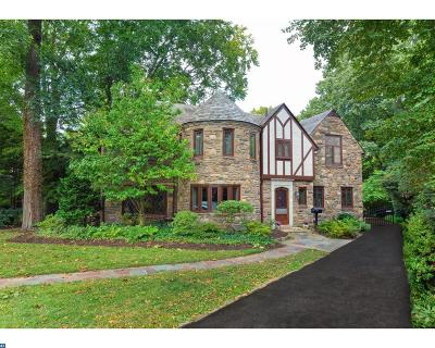 Merion Station Single Family Home ACTIVE: 22 Blancoyd Road