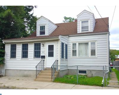Trenton NJ Single Family Home ACTIVE: $139,900