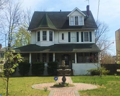 Merchantville Single Family Home ACTIVE: 4 E Maple Avenue