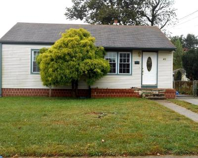 Morrisville PA Single Family Home ACTIVE: $109,900