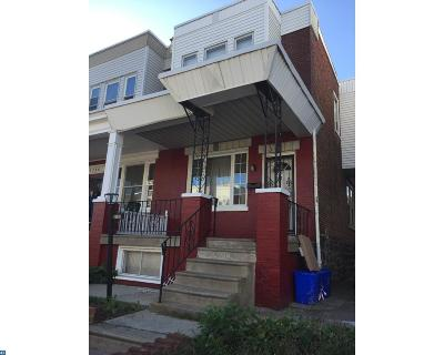 Philadelphia PA Single Family Home ACTIVE: $105,000