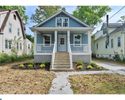 Merchantville Single Family Home ACTIVE: 207 Glenwood Avenue