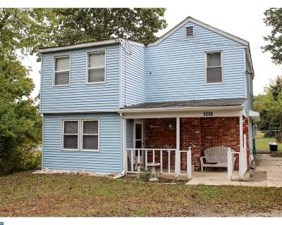 NJ-Camden County Single Family Home ACTIVE: 1230 Jarvis Road