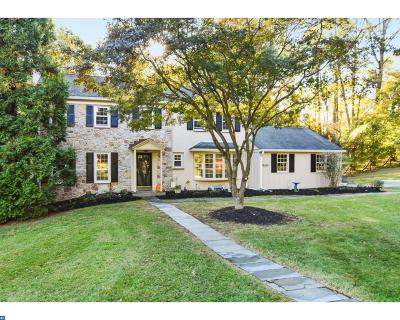 Newtown Square Single Family Home ACTIVE: 800 Hunt Road