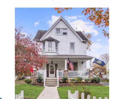 Moorestown Single Family Home ACTIVE: 420 E 3rd Street